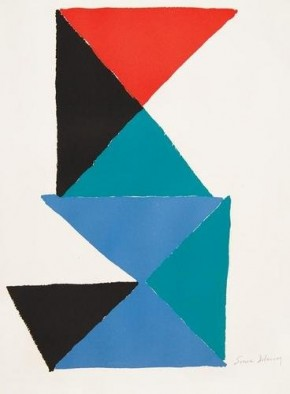 Triangle Composition by Sonia Delaunay