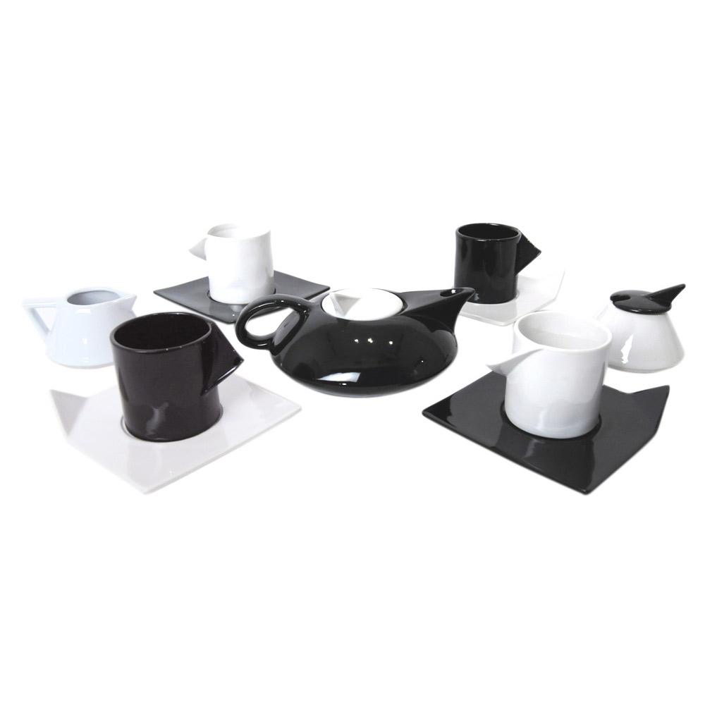 ad719aabd51 Post Modern Memphis Milano Inspired Tea Set Modernist Icon