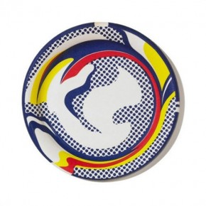 Roy Lichtenstein Serigraph on Paper Plate