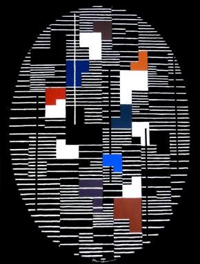 Untitled composition by Adolf Fleischmann