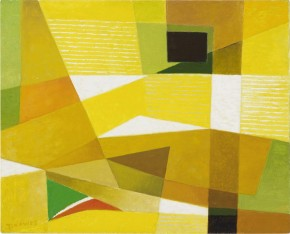 Werner Drewes Painting - Click to View Larger