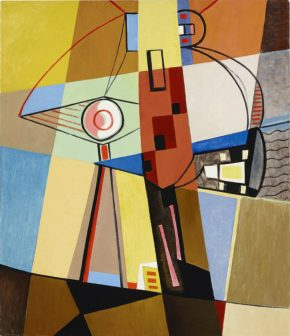 Louis Stone Painting. American Modernist Painting, 1940